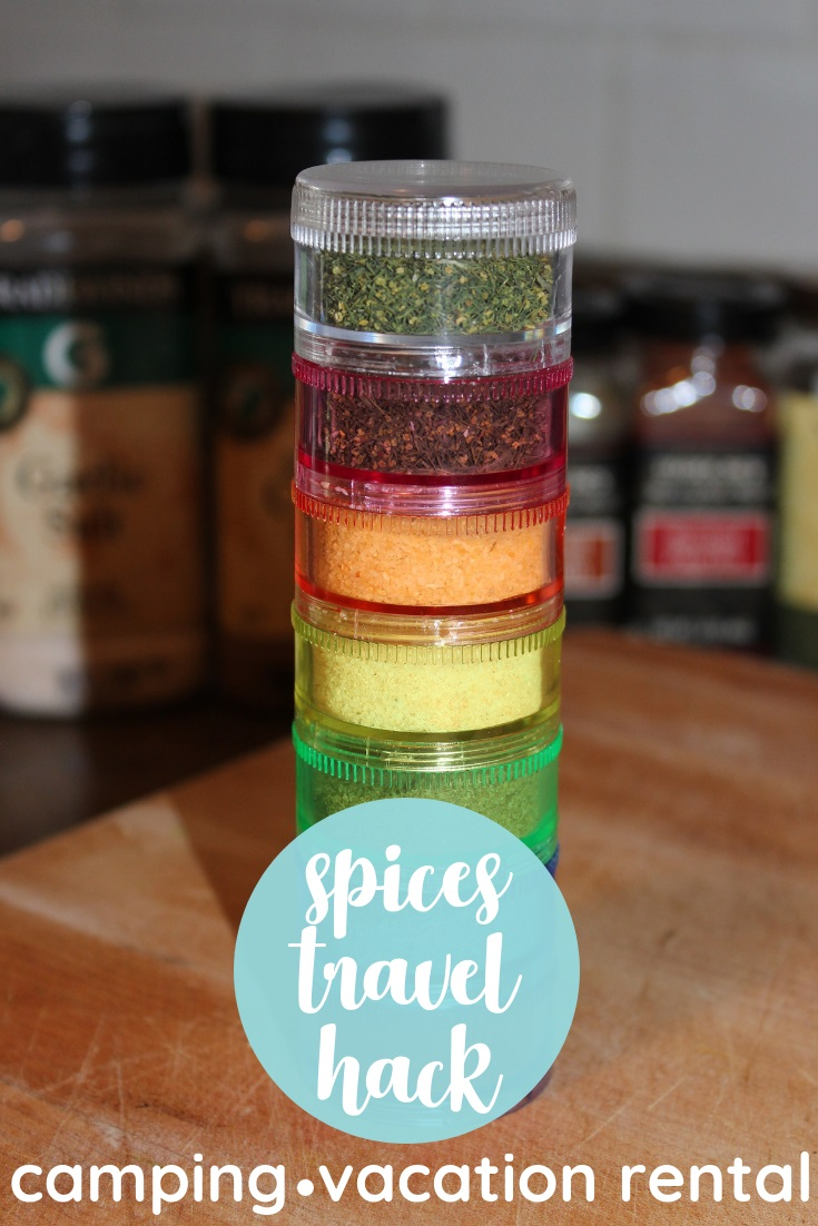 pill box travel kit spices camping vacation rental beach global clean real food say yum weeknight dinner pinterest